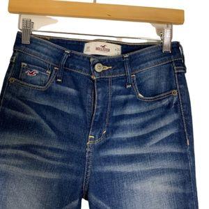 Hollister light faded denim skinny jeans 0R 24